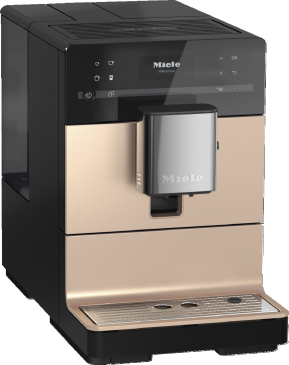 CM 5500 - Countertop coffee machine With OneTouch for Two for the ultimate in coffee enjoyment.--Rose gold Pearlfinish